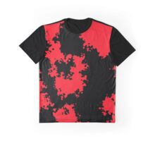 Camo - Red and Black Graphic T-Shirt
