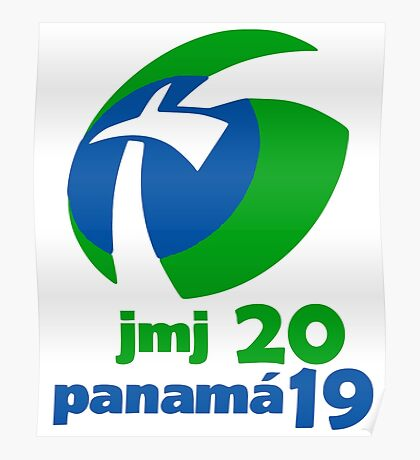 World Youth Day 2019 in Panama logo Poster