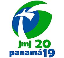World Youth Day 2019 in Panama logo Photographic Print