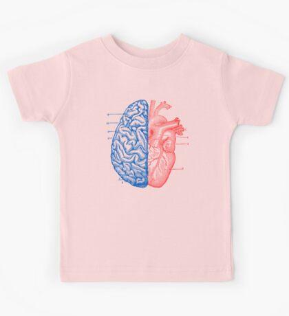Heart and Brain Kids Tee