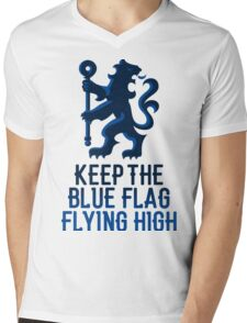Chelsea - Keep the Blue Flag Flying High Mens V-Neck T-Shirt