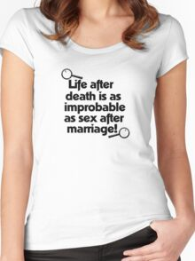 Life After Death - Clue Inspired Design - Cult Movie Women's Fitted Scoop T-Shirt
