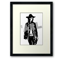 'Arl - because he cannot C Framed Print