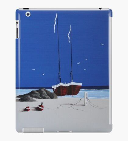 Red Boats iPad Case/Skin