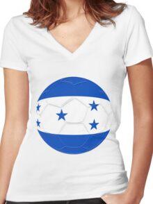 Honduras Women's Fitted V-Neck T-Shirt