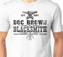 Doc Brown Blacksmith - Back to the Future Inspired Design Unisex T-Shirt