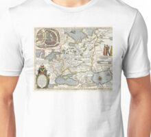 Map of Russia - Hessel Gerrits - 1613 Unisex T-Shirt