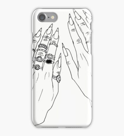 Witch Hands iPhone Case/Skin