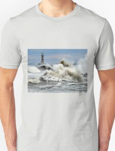 The Angry Sea - Roker Pier Sunderland T-Shirt