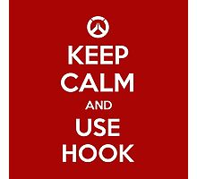 Keep calm and use hook Photographic Print