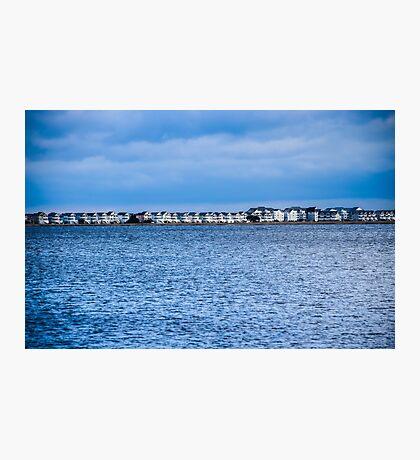 Beach House Coast Line Photographic Print