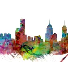 Melbourne Skyline Sticker