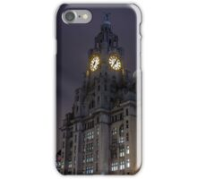 Liver Building and guard iPhone Case/Skin