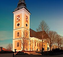 The village church of Sankt Peter am Wimberg III   architectural photography by Patrick Jobst