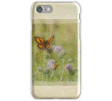 Butterfly and insects iPhone Case/Skin