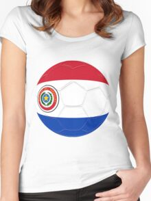 Paraguay Women's Fitted Scoop T-Shirt
