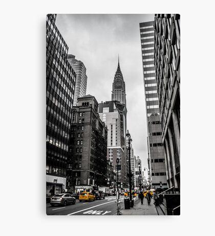 The Chrysler Building B&W Canvas Print