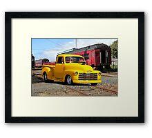 1953 Chevrolet 3100 Stepside Pickup Framed Print