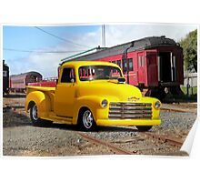 1953 Chevrolet 3100 Stepside Pickup Poster