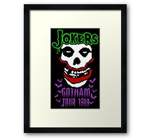 Jokers Framed Print