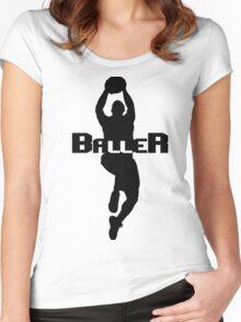 BALLER Women's Fitted Scoop T-Shirt