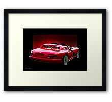 1995 Dodge Viper II Framed Print