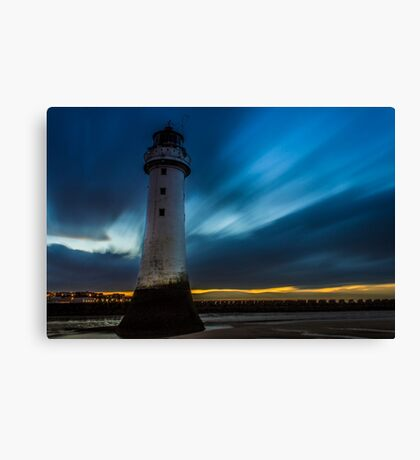 Perch Rock Lighthouse Canvas Print