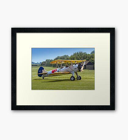 Boeing Stearman N2S-3 07539/143 N63590  Framed Print