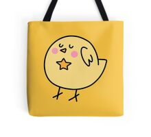 Star Yellow Bird Tote Bag