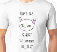 The cat and the mice Unisex T-Shirt