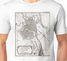 Plan of Barcelona - 1764 Unisex T-Shirt