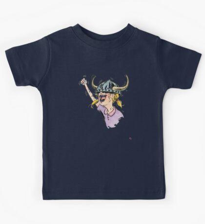 V is for Viking! Kids Tee