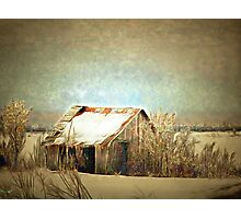On A Cold Winter Day Photographic Print