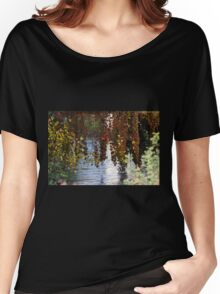 water reflection on river Women's Relaxed Fit T-Shirt