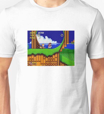 Mario the Hedgehog Unisex T-Shirt