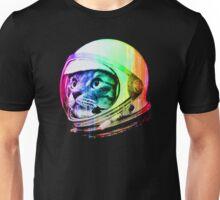 Astronaut Space Cat (digital rainbow version) Unisex T-Shirt