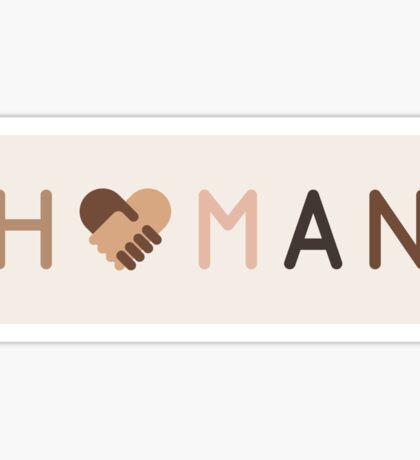H U M A N : 2 Sticker