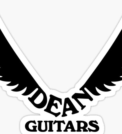 Dean Guitars. Sticker