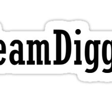 Team Diggory Sticker