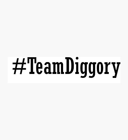 Team Diggory Photographic Print