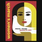 Women's March Atlanta Georgia 2017 by WISDOMWEAR