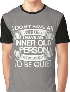 Inner Child / Inner Old Person Graphic T-Shirt