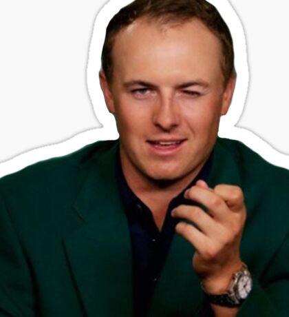 Jordan Spieth PGA TOUR Wink Sticker