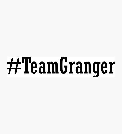 Team Granger Photographic Print