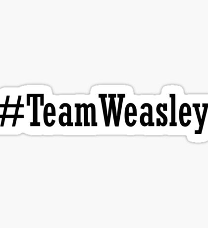 Team Weasley Sticker