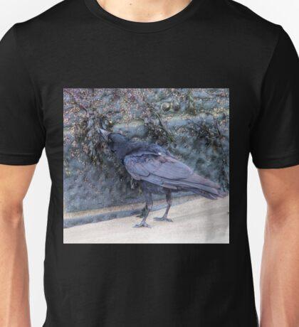 Shellfish or Seaweed for this Crow............Lyme Dorset UK Unisex T-Shirt