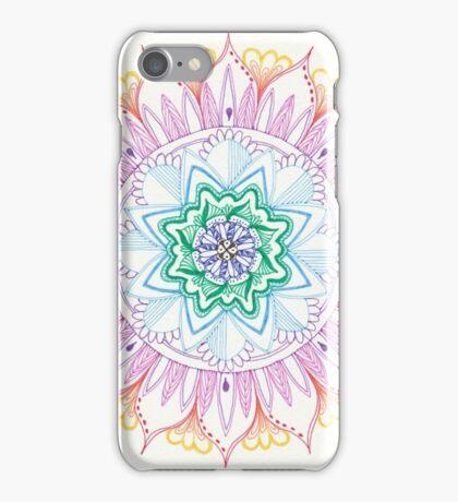 Rainbow Mandala  iPhone Case/Skin