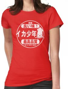 Squid Boy Restaurant - Ginza, Tokyo (vintage look) Womens Fitted T-Shirt