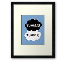 Tumblr/TFIOS Framed Print
