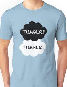 Tumblr/TFIOS Unisex T-Shirt